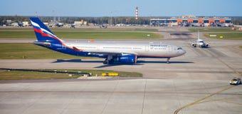 Internationaler Flughafen Sheremetyevo, Moskau, Russland Lizenzfreie Stockfotos
