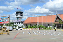 Internationaler Flughafen Siem Reap Stockbild