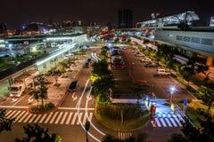 Internationaler Flughafen Taoyuan MRT Lizenzfreie Stockfotos
