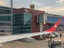 Internationaler Flughafen Tifliss - Georgia lizenzfreies stockbild