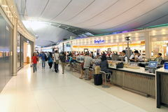 Internationaler Flughafen von Bangkok Stockfoto