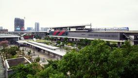 Internationaler Flughafen-Zugang MRT Taoyuan Lizenzfreie Stockfotografie