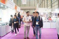 Internationaler Goldschmuck Shenzhens angemessen Lizenzfreie Stockfotos