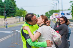 Internationaler Halbmarathon 2015 Bukarests Lizenzfreie Stockfotos
