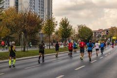 40. internationaler Istanbul-Marathon und -athleten lizenzfreie stockbilder