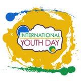 Internationaler Jugend-Tag Vektor Abbildung