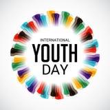 Internationaler Jugend-Tag Lizenzfreies Stockbild