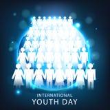 Internationaler Jugend-Tag Lizenzfreie Stockfotos