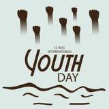 Internationaler Jugend-Tag Lizenzfreie Stockbilder