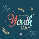 Internationaler Jugend-Tag Stockbild