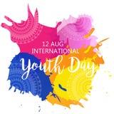 Internationaler Jugend-Tag Stockbilder