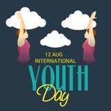 Internationaler Jugend-Tag Stockfotos
