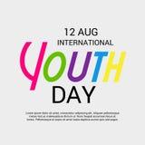 Internationaler Jugend-Tag Lizenzfreies Stockfoto