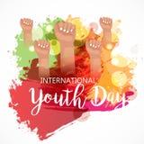 Internationaler Jugend-Tag Stockfoto