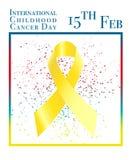 Internationaler Kindheits-Krebs-Tag Lizenzfreies Stockfoto