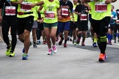 Internationaler Marathon 2015 in Shanghai Lizenzfreie Stockfotografie