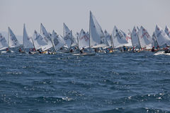 Internationaler SommerRegatta Stockbild