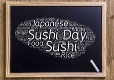 Internationaler Sushi-Tag Stockfotos