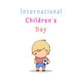 Internationaler Tag der Kinds Lizenzfreies Stockfoto