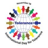 Internationaler Tag der Toleranz Lizenzfreies Stockfoto
