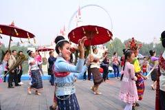 Internationaler Tourismus Pekings und Kultur-Festival Lizenzfreie Stockfotografie