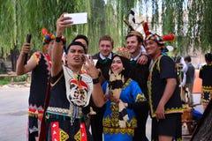 Internationaler Tourismus Pekings und Kultur-Festival Stockfotografie