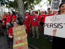 Internationaler Women's-Tag, Oahu Lizenzfreie Stockfotografie