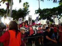 Internationaler Women's-Tag, Oahu Lizenzfreie Stockfotos