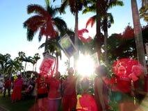 Internationaler Women's-Tag, Oahu Lizenzfreies Stockbild