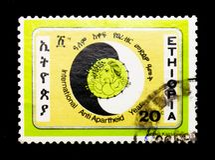 Internationales Anti-Apartheids-Jahr, serie, circa 1984 Stockfoto