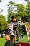 Internationales Ballon-Festival 2013 Thailands Lizenzfreies Stockbild