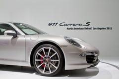 Internationales Erscheinen Porsche-911 Los Angeles stockbilder