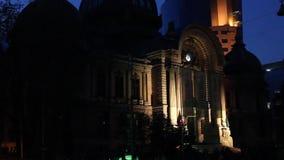 Internationales Festival des Lichtes, Bukarest 2015 stock video