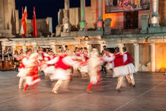21. internationales Festival in Plowdiw, Bulgarien Stockbilder