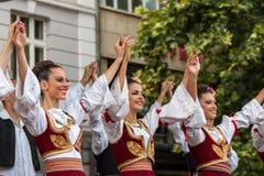 21. internationales Festival in Plowdiw, Bulgarien Lizenzfreies Stockfoto