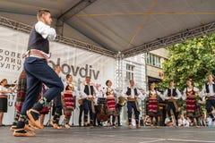 21. internationales Festival in Plowdiw, Bulgarien Stockfotos