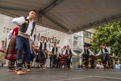 21. internationales Festival in Plowdiw, Bulgarien Stockfotografie