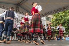 21. internationales Festival in Plowdiw, Bulgarien Lizenzfreie Stockfotos