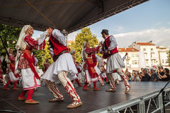 21. internationales Festival in Plowdiw, Bulgarien Stockfotos