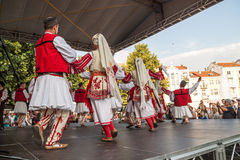21. internationales Festival in Plowdiw, Bulgarien Stockbild