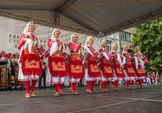 21. internationales Festival in Plowdiw, Bulgarien Stockfoto