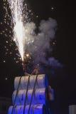 Internationales Festival von Straßen-Theatern ULICA in Cracow_Xarxa-Theater Stockfotografie
