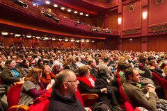 55. internationales Film-Festival Saloniki an Olympions-Kino Stockbilder
