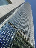 Internationales Finanzgebäude, Hong Kong, China Lizenzfreies Stockfoto
