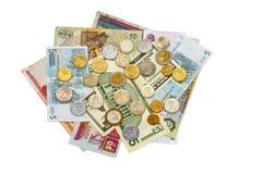 Internationales Geld Stockfotos