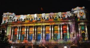 Internationales helles Festival Bukarests lizenzfreie stockfotos