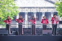Internationales Mariachi- u. Charros-Festival stockbild
