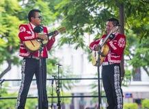 Internationales Mariachi- u. Charros-Festival lizenzfreie stockbilder