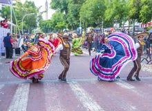 Internationales Mariachi- u. Charros-Festival lizenzfreies stockbild
