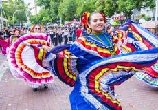 Internationales Mariachi- u. Charros-Festival stockfotos